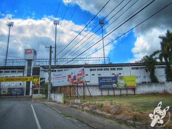 Estádio Heriberto Hulse | Criciúma - Santa Catarina - Brasil | FredLee Na Estrada