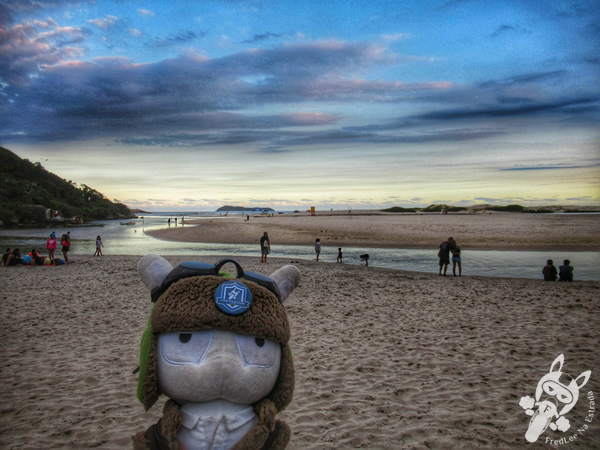 Praia do Evori - Praia da Barra | Guarda do Embaú | Palhoça - Santa Catarina - Brasil | FredLee Na Estrada