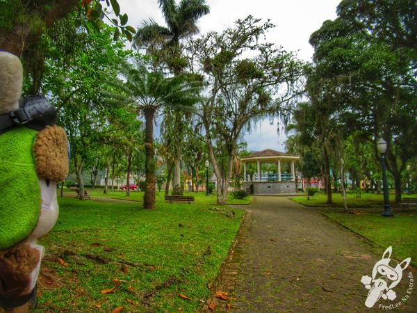 Praça Coronel Macedo | Centro Histórico | Antonina - Paraná - Brasil | FredLee Na Estrada