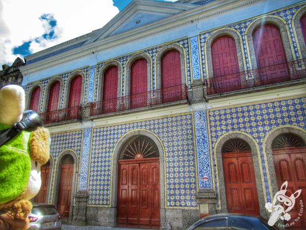 Casa da Frontaria Azulejada - Centro Histórico   Santos - São Paulo - Brasil   FredLee Na Estrada