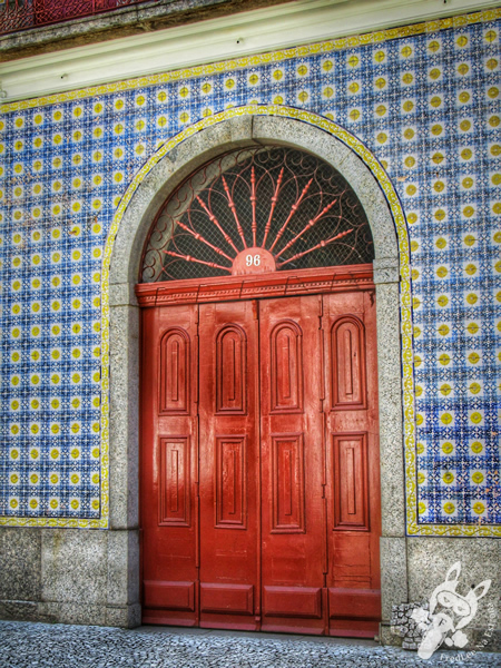 Casa da Frontaria Azulejada - Centro Histórico | Santos - São Paulo - Brasil | FredLee Na Estrada