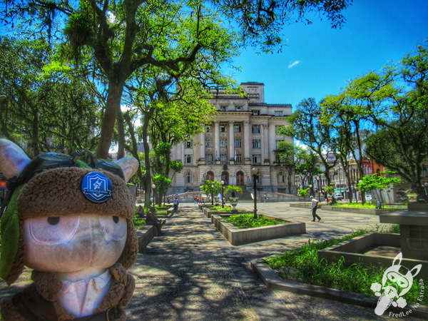 Praça Visconde de Mauá - Centro Histórico | Santos - São Paulo - Brasil | FredLee Na Estrada