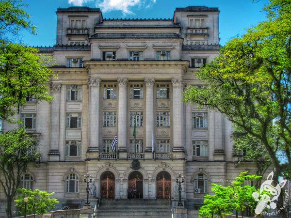 Palácio José Bonifácio - Centro Histórico | Santos - São Paulo - Brasil | FredLee Na Estrada
