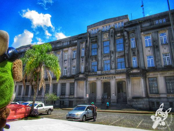 Alfândega de Santos | Praça da República - Centro Histórico | Santos - São Paulo - Brasil | FredLee Na Estrada