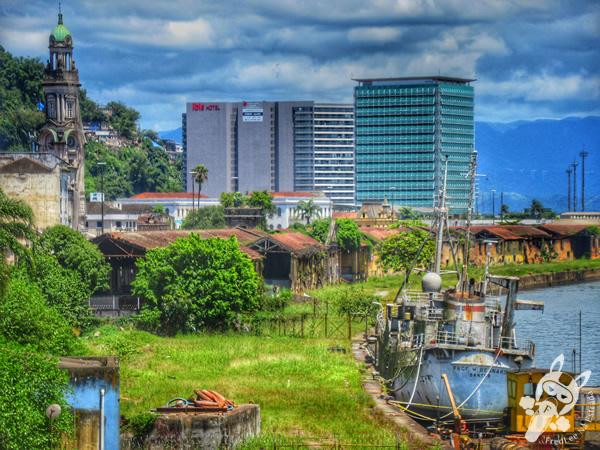 Porto de Santos - Centro Histórico   Santos - São Paulo - Brasil   FredLee Na Estrada