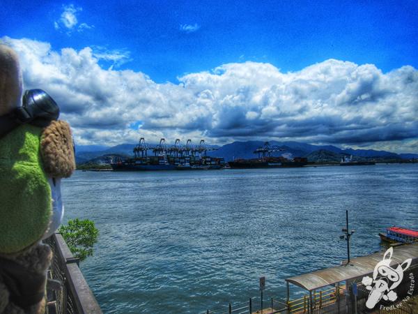 Porto de Santos - Centro Histórico | Santos - São Paulo - Brasil | FredLee Na Estrada