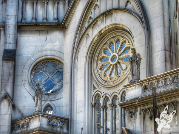 Catedral de Santos - Centro Histórico | Santos - São Paulo - Brasil | FredLee Na Estrada