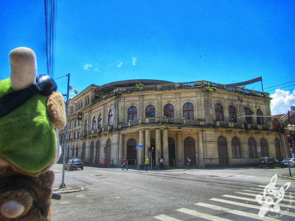 Theatro Coliseu - Centro Histórico | Santos - São Paulo - Brasil | FredLee Na Estrada