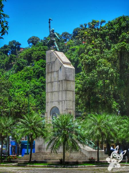 Praça Patriarca José Bonifácio - Centro Histórico | Santos - São Paulo - Brasil | FredLee Na Estrada