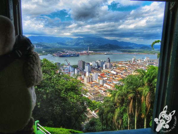 Funicular   Monte Serrat - Centro Histórico   Santos - São Paulo - Brasil   FredLee Na Estrada