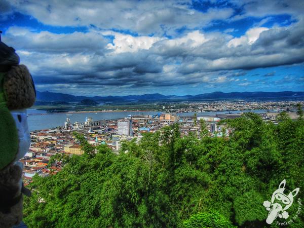 Monte Serrat - Centro Histórico   Santos - São Paulo - Brasil   FredLee Na Estrada