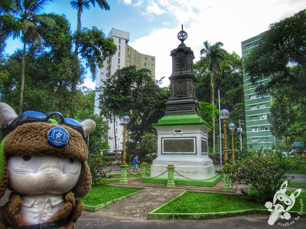 Praça Vinte e Dois de Janeiro - Centro Histórico | São Vicente - São Paulo - Brasil | FredLee Na Estrada