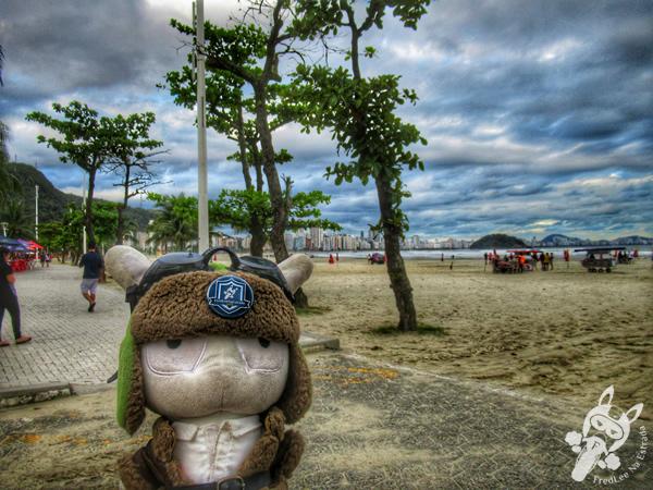 Praia do Itararé   São Vicente - São Paulo - Brasil   FredLee Na Estrada