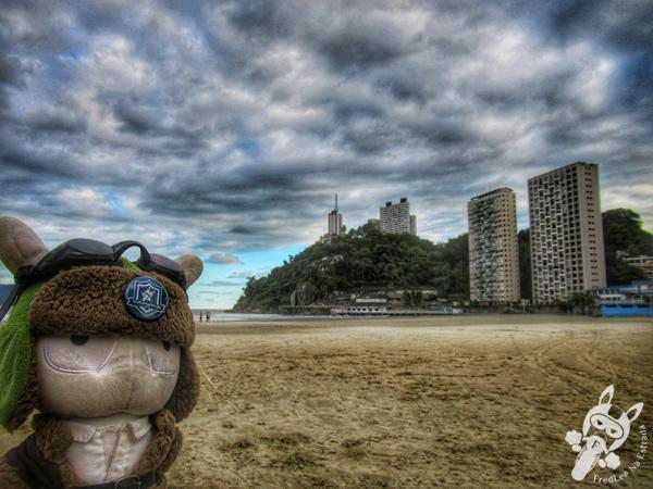 Praia do Itararé | São Vicente - São Paulo - Brasil | FredLee Na Estrada