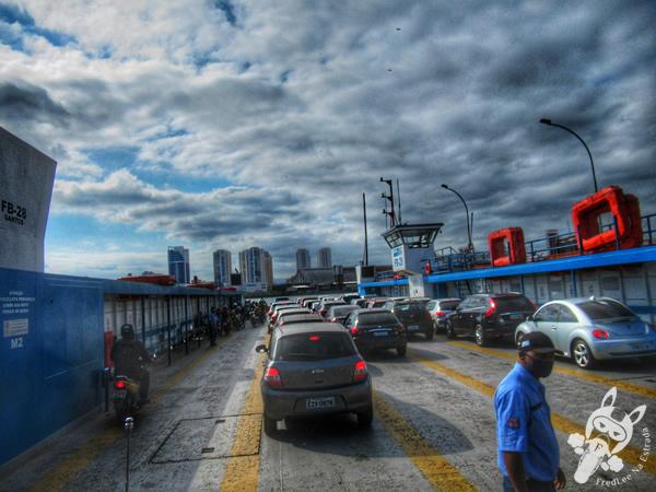 Travessia entre Guarujá e Santos | Guarujá - São Paulo - Brasil | FredLee Na Estrada