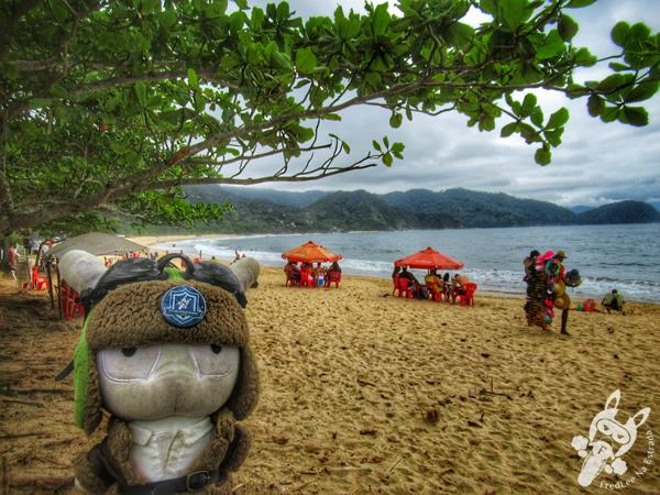 Praia dos Ranchos | Trindade - Paraty - Rio de Janeiro - Brasil | FredLee Na Estrada