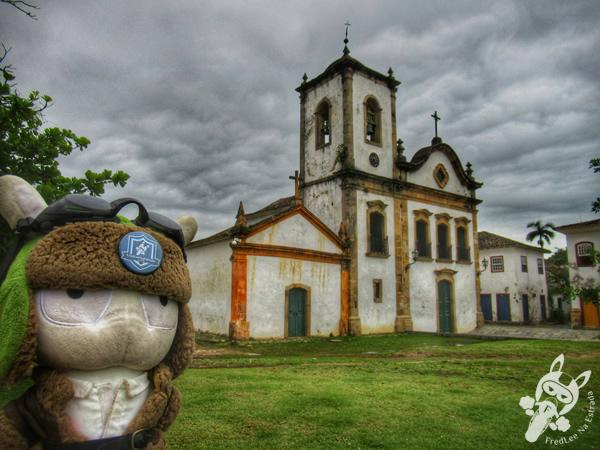 Igreja de Santa Rita - Centro Histórico | Paraty - Rio de Janeiro - Brasil | FredLee Na Estrada