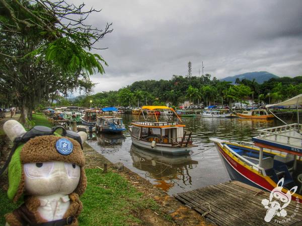 Baía de Paraty - Rio Perequê-Açú - Centro Histórico | Paraty - Rio de Janeiro - Brasil | FredLee Na Estrada