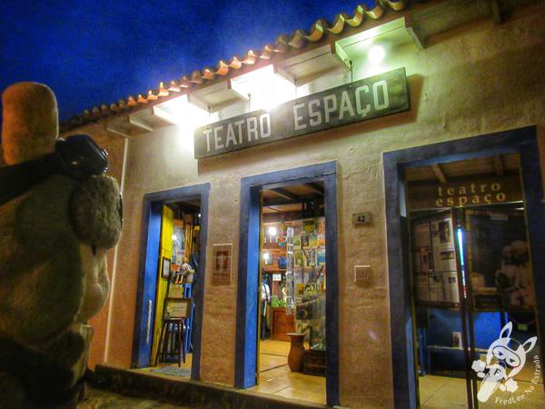Teatro Espaço - Centro Histórico | Paraty - Rio de Janeiro - Brasil | FredLee Na Estrada
