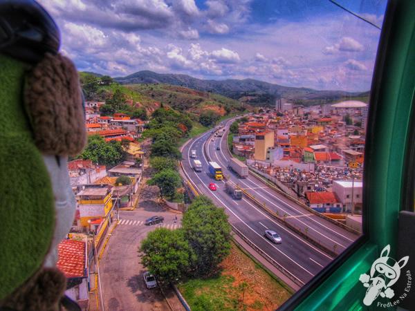 Bondinho de Aparecida - Santuário Nacional de Nossa Senhora Aparecida | Aparecida - São Paulo - Brasil | FredLee Na Estrada