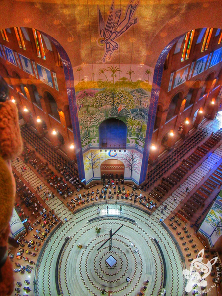 Cúpula Central - Santuário Nacional de Nossa Senhora Aparecida | Aparecida - São Paulo - Brasil | FredLee Na Estrada