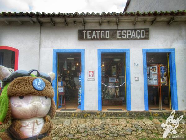 Teatro Espaço - Centro Histórico   Paraty - Rio de Janeiro - Brasil   FredLee Na Estrada