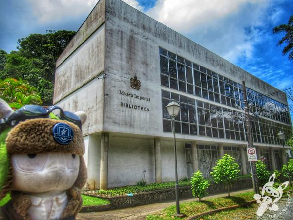 Museu Imperial - Biblioteca - Centro Histórico | Petrópolis - Rio de Janeiro - Brasil | FredLee Na Estrada