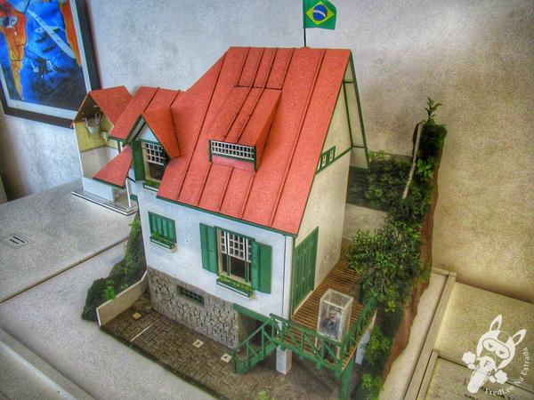 Museu Casa de Santos Dumont - Centro Histórico | Petrópolis - Rio de Janeiro - Brasil | FredLee Na Estrada