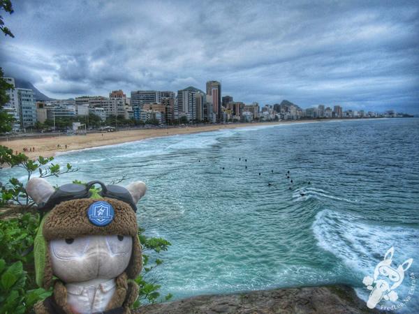 Mirante do Leblon   Rio de Janeiro - Rio de Janeiro - Brasil   FredLee Na Estrada