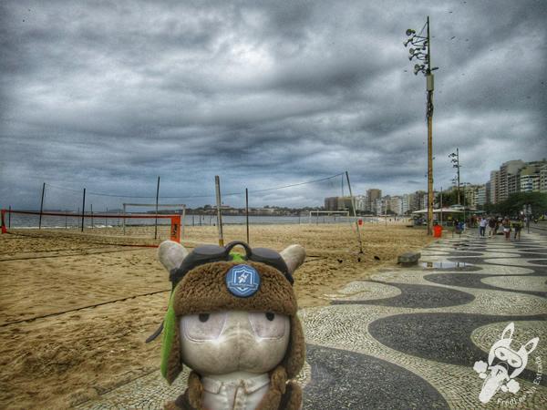Praia de Copacabana   Rio de Janeiro - Rio de Janeiro - Brasil   FredLee Na Estrada