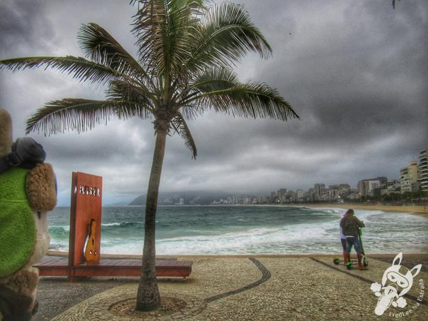 Praia do Arpoador   Rio de Janeiro - Rio de Janeiro - Brasil   FredLee Na Estrada