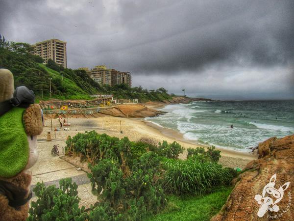 Praia do Diabo - Pedra do Arpoador   Rio de Janeiro - Rio de Janeiro - Brasil   FredLee Na Estrada