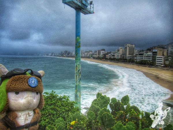 Pedra do Arpoador - Praia do Arpoador   Rio de Janeiro - Rio de Janeiro - Brasil   FredLee Na Estrada