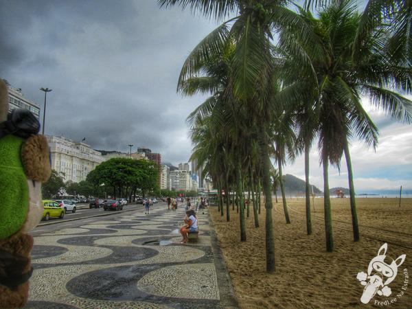 Praia de Copacabana | Rio de Janeiro - Rio de Janeiro - Brasil | FredLee Na Estrada