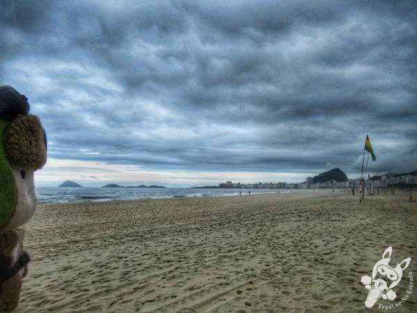 Praia do Leme | Rio de Janeiro - Rio de Janeiro - Brasil | FredLee Na Estrada