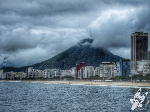 Mureta do Leme - Praia do Leme | Rio de Janeiro - Rio de Janeiro - Brasil | FredLee Na Estrada