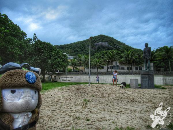Praça Almirante Júlio de Noronha - Praia do Leme | Rio de Janeiro - Rio de Janeiro - Brasil | FredLee Na Estrada