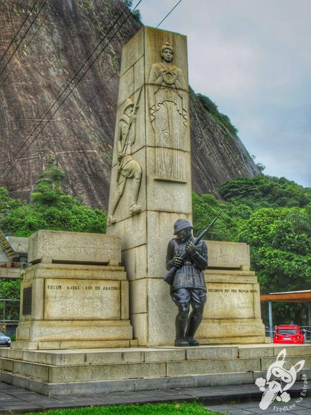 Praça General Tibúrcio - Urca | Rio de Janeiro - Rio de Janeiro - Brasil | FredLee Na Estrada