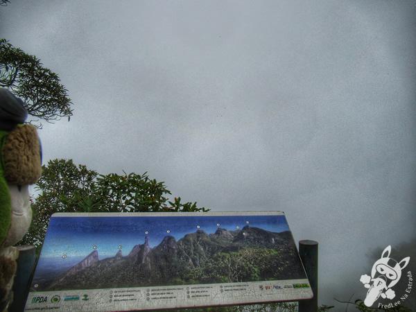 Mirante do Cartão Postal - Trilha Cartão Postal - Parque Nacional da Serra dos Órgãos - Parnaso - ICMBio - Sede Teresópolis | FredLee Na Estrada