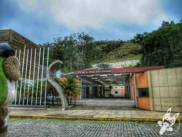 Praça das Colônias | Nova Friburgo - Rio de Janeiro - Brasil | FredLee Na Estrada