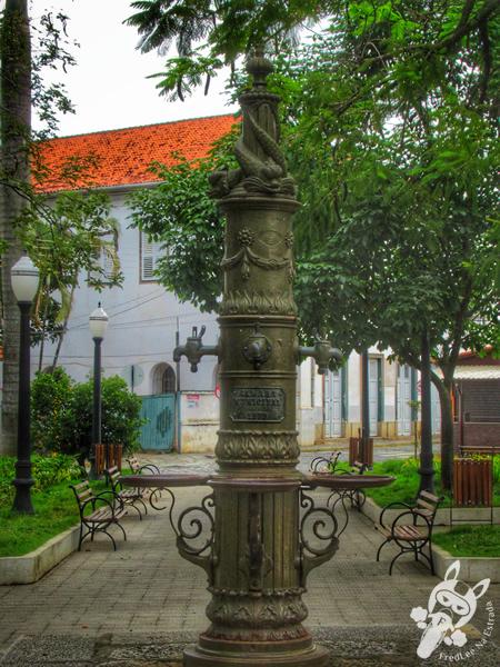 Praça Pedro Ramos - Centro Histórico | Bananal - São Paulo - Brasil | FredLee Na Estrada