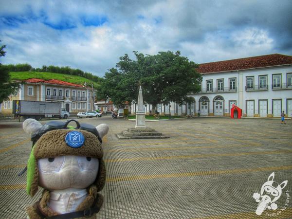 Praça Rubião Júnior - Centro Histórico | Bananal - São Paulo - Brasil | FredLee Na Estrada