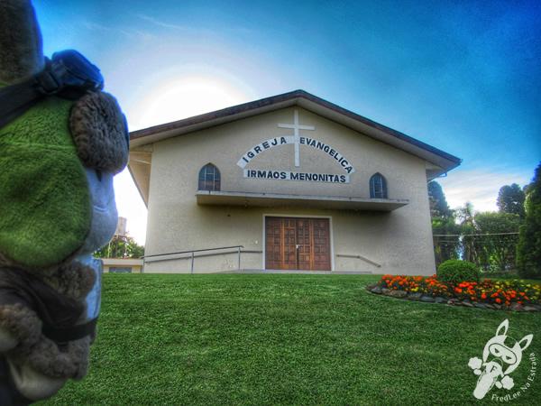 Igreja Evangélica Irmãos Menonitas | Colônia Witmarsum - Palmeira - Paraná - Brasil | FredLee Na Estrada