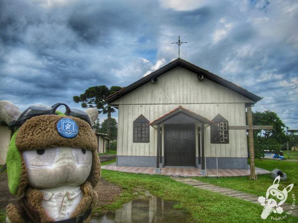 Capela Senhor Bom Jesus   Faxinal do Céu - Pinhão - Paraná - Brasil   FredLee Na Estrada