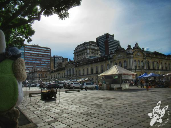 Praça XV de Novembro - Centro Histórico | Porto Alegre - Rio Grande do Sul - Brasil | FredLee Na Estrada