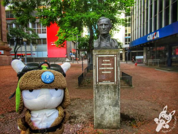 Monumento General José Artigas - Centro Histórico | Porto Alegre - Rio Grande do Sul - Brasil | FredLee Na Estrada