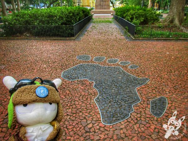 A Pegada Africana - Centro Histórico | Porto Alegre - Rio Grande do Sul - Brasil | FredLee Na Estrada