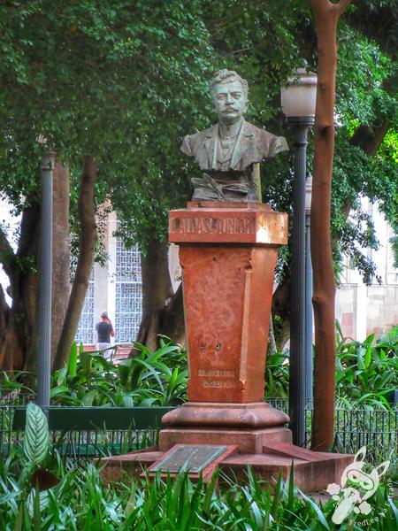 Busto de Caldas Júnior - Centro Histórico | Porto Alegre - Rio Grande do Sul - Brasil | FredLee Na Estrada