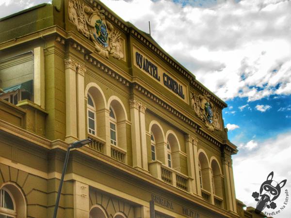 Quartel General da Brigada Militar - Centro Histórico | Porto Alegre - Rio Grande do Sul - Brasil | FredLee Na Estrada
