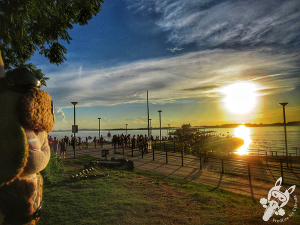 Orla do Guaíba | Porto Alegre - Rio Grande do Sul - Brasil | FredLee Na Estrada